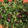 Kale, Roasted Beet and Edamame Salad