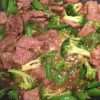 Stir-Fried Beef with Broccoli and Snap Peas